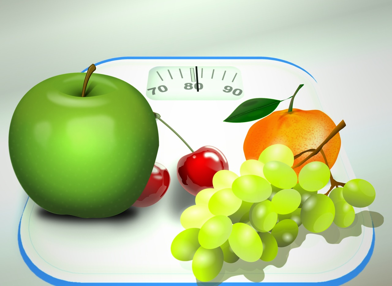 Ovoce na váze