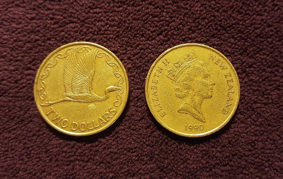 dvě mince