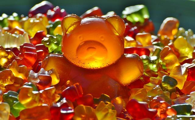 gummi medvědi