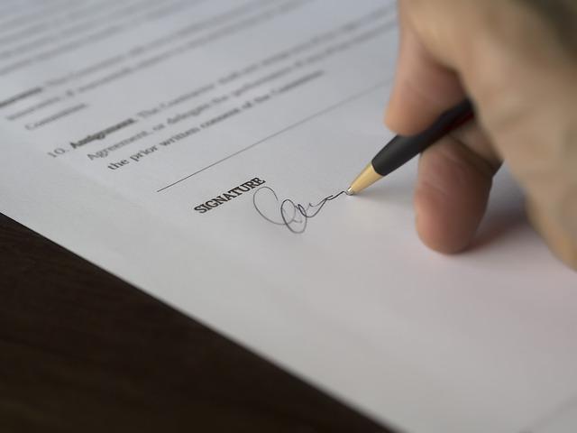 podpis propiskou