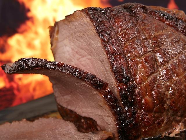 grilováné hovězí maso
