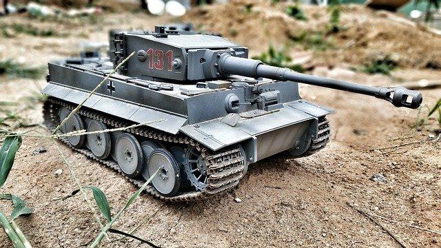 tank na hraní