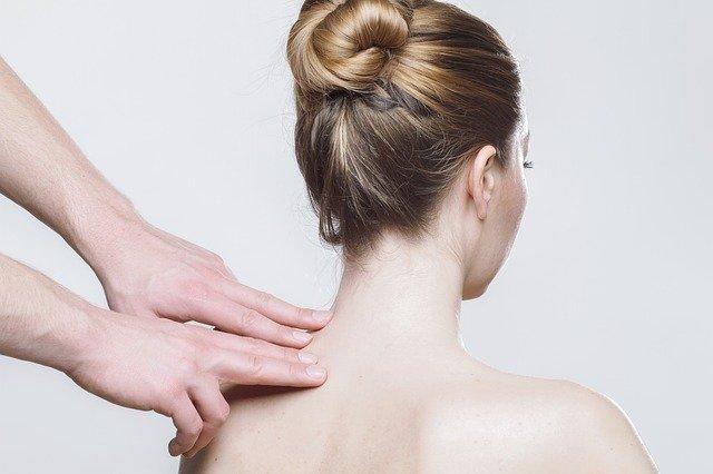 masáž krku