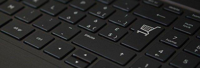 klávesnice elektronický obchod