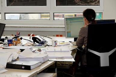 zaměstnání v kanceláři